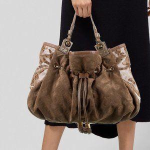 Louis Vuitton  LE  Irene Coco Suede Patent bag